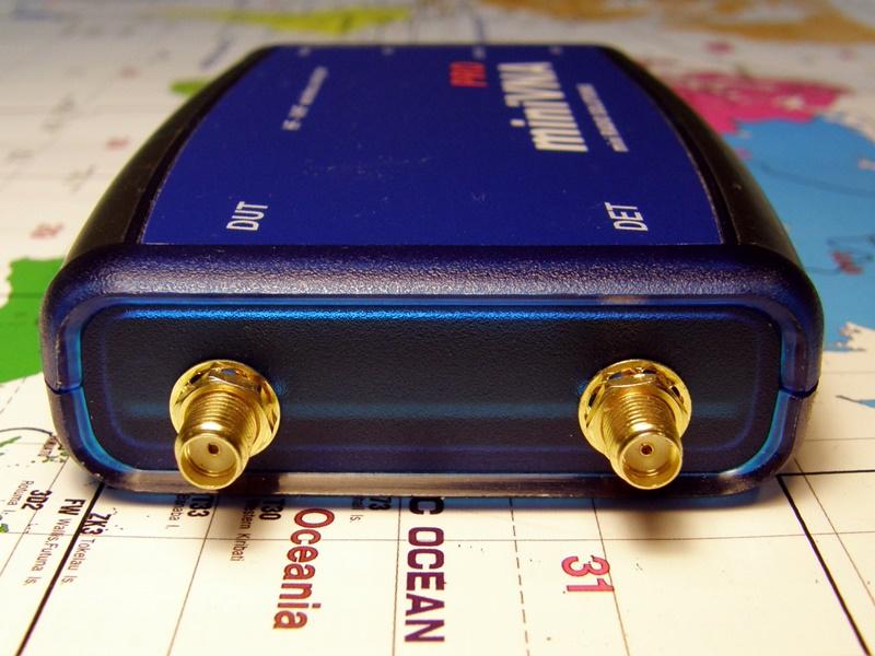 bluetooth antenna analyzer, transmission mode vna, hight