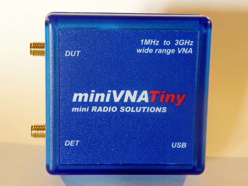vna 3ghz low cost, transmission mode minivna tiny, shf